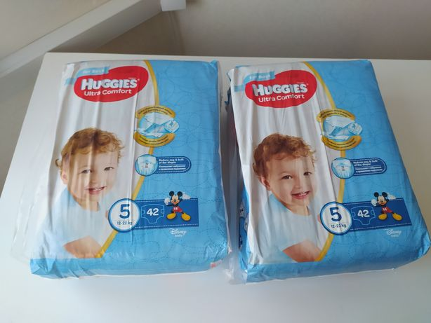 Подгузники Huggies Ultra Comfort 5 Jumbo для мальчиков 42 шт