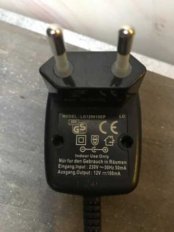 Oryginalny zasilacz LG 120010EP 12V -100mA