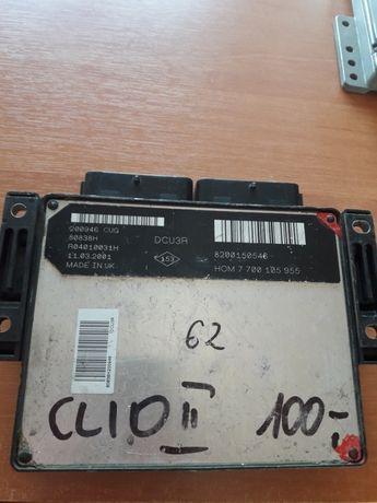 Sterownik komputer silnika Renault Clio ii