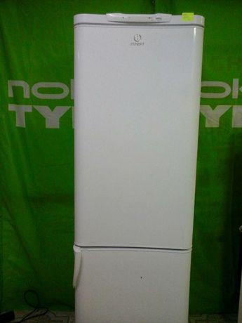 Холодильник  Indesit  нижней  морозильной камеры  высота 185 см