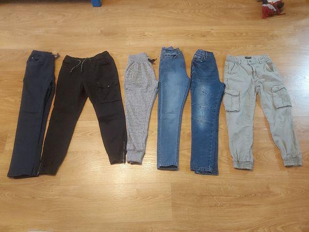 Spodnie dla chłopca rozm 146 jeans dres bojówki Reserved Coccodrillo
