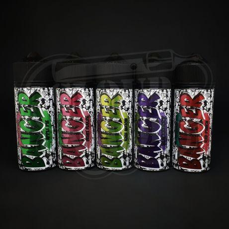 Жидкости для вейпа/жижа для электронных сигарет BANGER 120мл
