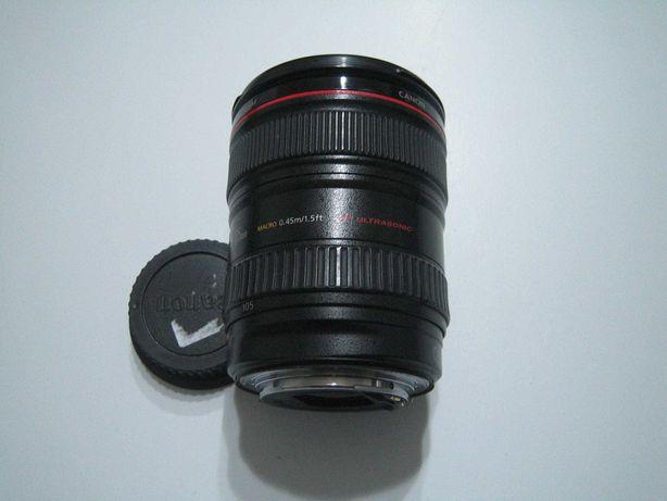 Canon  Lente 24-105-f.4 IS L  Bom Estado