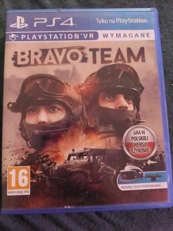 Sprzedam Bravo Team PS4 !(Wymagane okulary VR)!