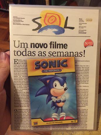 DVD Sonic The HedgeHog