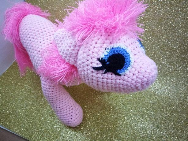 Вязананий Пони Мультяшний герой Пинки Пай
