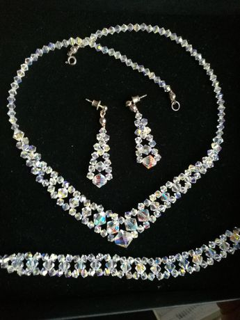 Komplet biżuterii SVAROWSKI