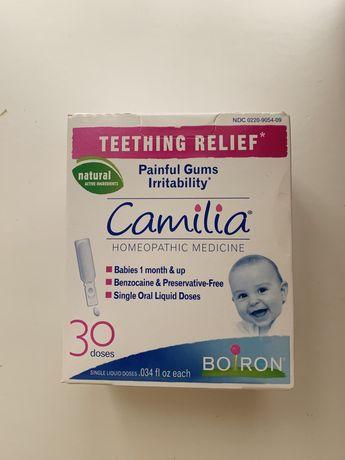 Camilia, капли для облегчение боли при прорезывании зубов