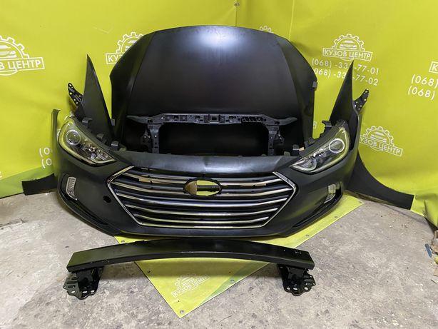 Бампер Hyundai Elantra AD 2016 2017 2018 капот решетка фара