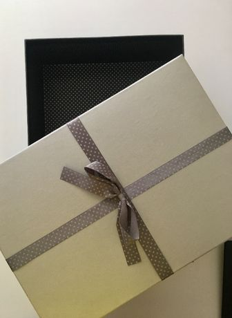 Pudełko do przechowywania odzieży butów lub na prezent