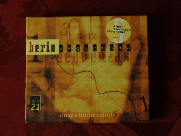 BERIO, L. – Sequenzas I-XIV for Solo Instruments | 3 CD's