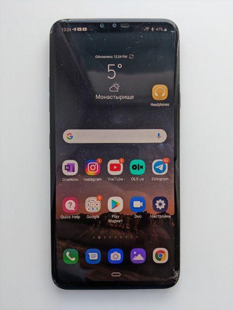 """LG V40 ThinQ 6/64Gb 6.4"""" Snapdragon_845 LTE 4K P-OLED Li-Pol"""
