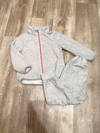 Продам спортивынй флисовый костюм штаны кофта hm