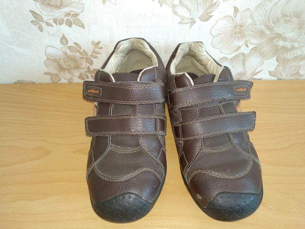 Кожаные кроссовки, шкіряні кросівки, туфлі,мешти  хлопчик 31-33р. 21см