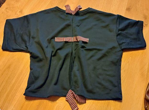 Marynaska bluzka krótki rękaw oversize M Reserved