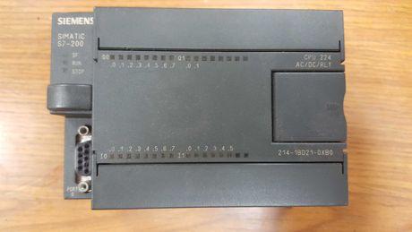 Automato  Siemens S7 - 200 e cabo de interface para ligação ao PC