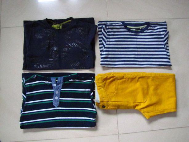 Koszulki spodnie rozm 134-140