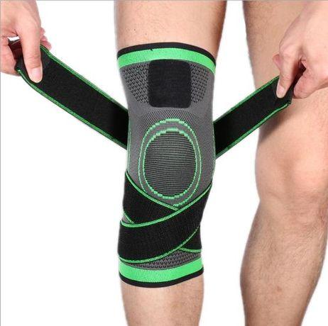 Наколенник для колена, спортивный с резинками для спорта и фитнеса