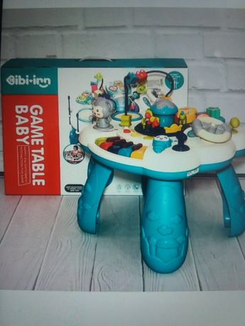 Развивающий столик для малышей музыкальный игровой центр