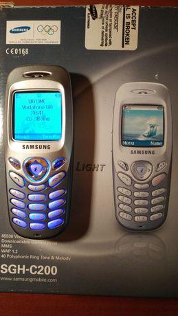 Samsung SGH-C200 оригинал кнопочный состояние нового