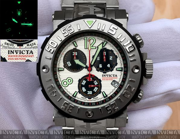 Швейцарские часы Invicta 6129 Reserve Sea Rover Swiss Made ETA