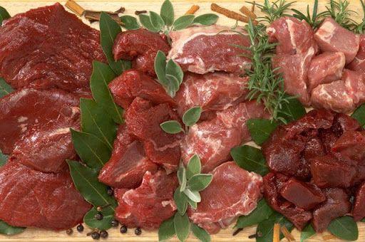Мясо, фарш и мясные миксы для хищников (собак, котов, лис, хорьков.)