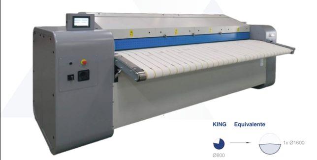 Calandra lavandaria industrial king