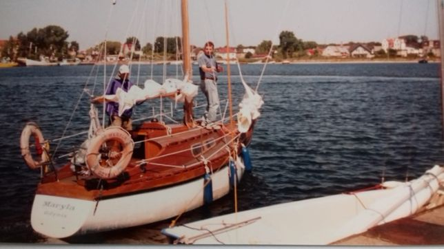 Sprzedam Morski Jacht żaglowy