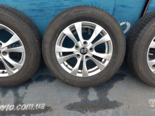 Goauto диски Kia Hyundai 5/114.3 r15 et47 6j dia67.1 в идеальном состо
