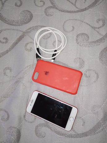 Iphone 7 red 128gb neverlock