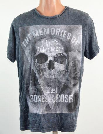 Стильная футболка с черепом Be careful (XL)