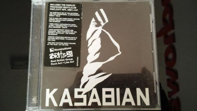 kasabian includes the singles