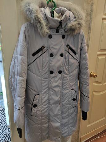 Зимний пуховик 48 размер
