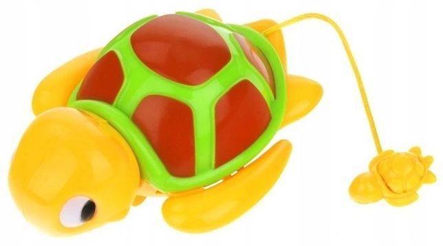 Zabawka Do Kąpieli Pływający Nakręcany Żółw Żółwik -Superzabaweczki-
