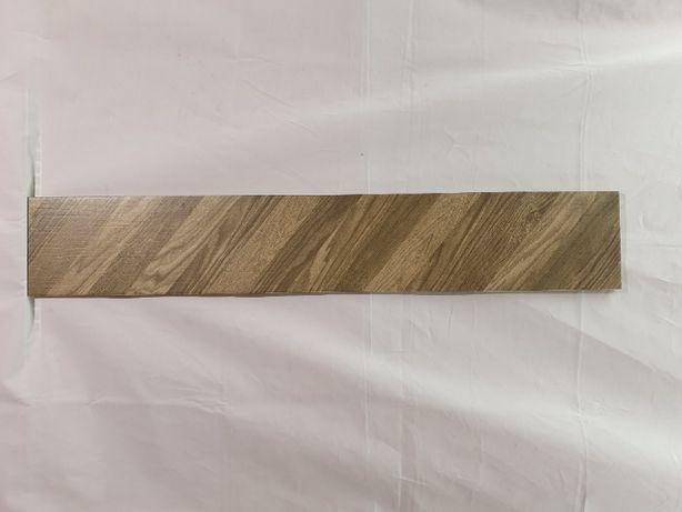 Wood Chevron right (prawy)brązowy15x 90 cm