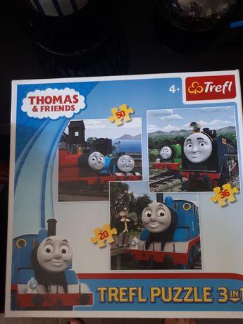 Puzzle 4+ Tomek i Przyjaciele
