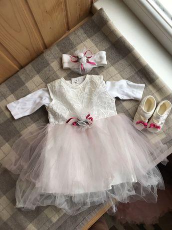 Наряд, платье на крестины девочки
