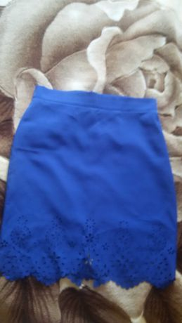 Красивая женская ажурная юбка