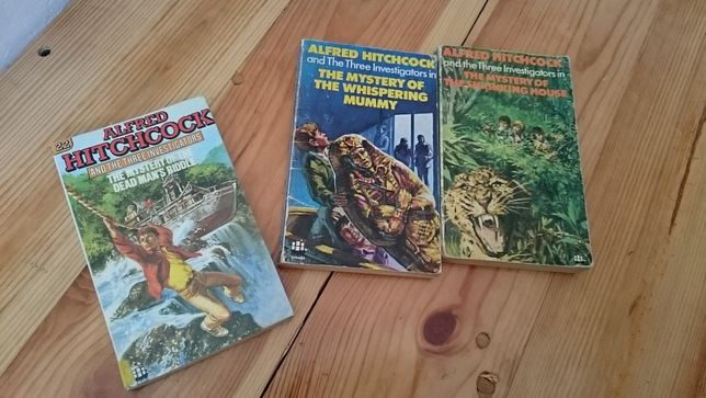 Książki Hitchcock Three Investigators Przygody trzech detektywów