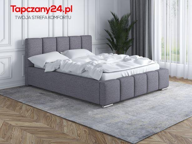 Łóżko małżeńskie tapicerowane Łoże sypialniane 160/200 POJEMNIK STELAŻ