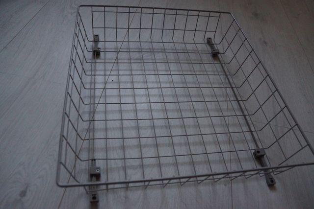 Kosz siatkowy wysuwany szafa garderoba 53x47 cm