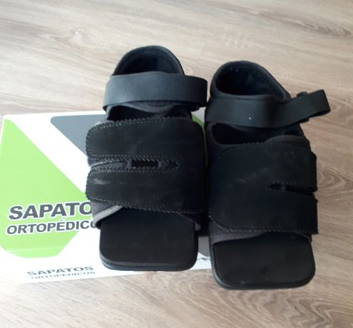 Sapatos pós cirúrgico