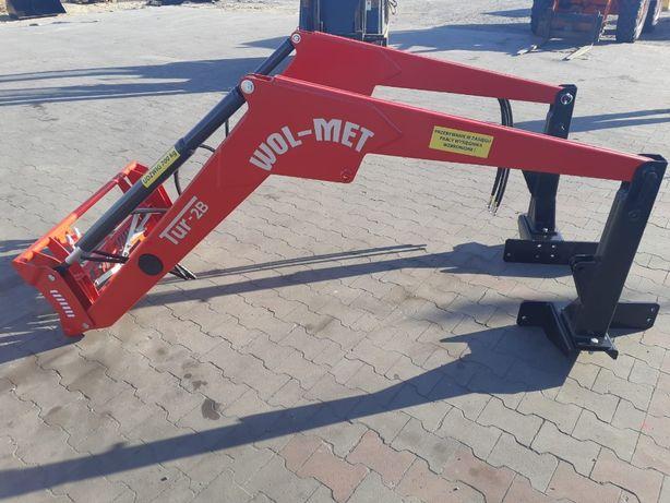 Nowy Model WOL-MET Ładowacz czołowy 2B MTZ URSUS ZETOR 800kg Dowóz