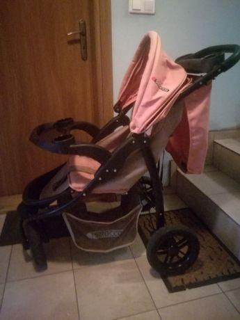 wózek sirocco spacerowy pink