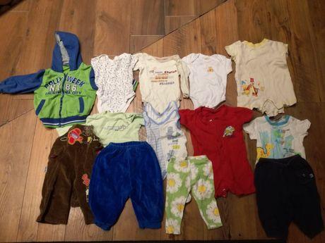 Mega zestaw ubranek dla niemowlaka rozm od 62 do 92