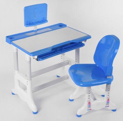 Парта со стульчиком регулируется высота и угол наклона столешницы