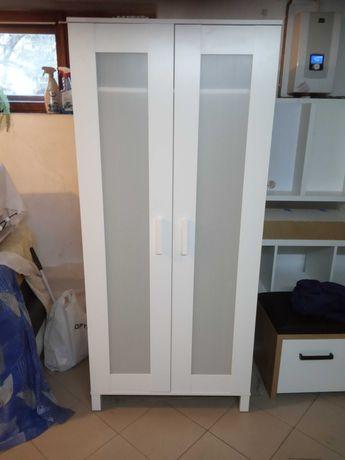 Szafa biała Ikea plus półki z kompletu