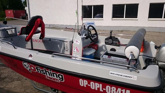 Łódka wędkarska 440 - dowolna konfiguracja
