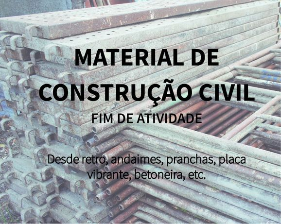 Vários Materiais de construção civil