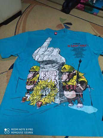 Koszulka t-shirt Stoprocent  M L pomnik ku czci Hardcore'a piękna